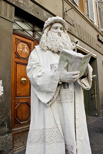 Leonardo da Vinci in Florence