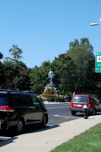 Lexington Minuteman at Battle Green