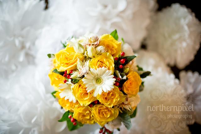 Christine & Nathan- Bridal Bouquet