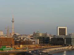 Berlin desde la azotea del Meininger Hotel