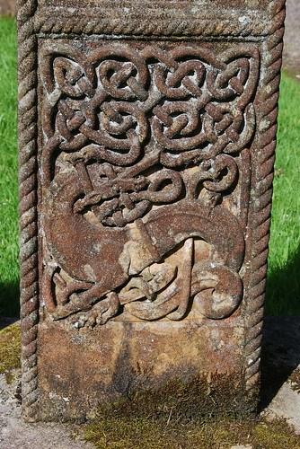 Stone in Wamphray church yard