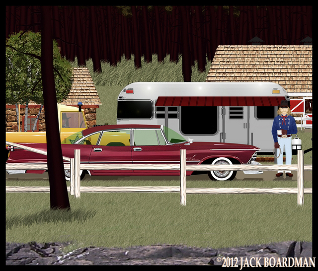 Marshal Blackmon returned from town ©2012 Jack Boardman