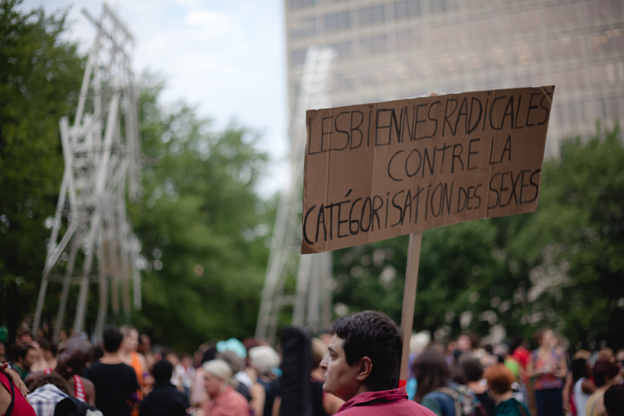 1ère marche des lesbiennes / 1st radical dyke march! [photos Thien V]