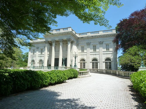 Front of Marble House