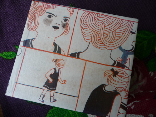 Decoupage box with Finnish comic art