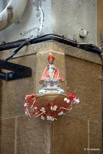 Estatua homenaje a San Fermín