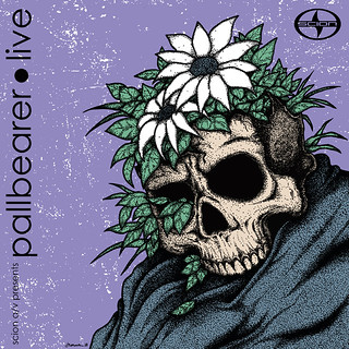 Pallbearer Live album cover art
