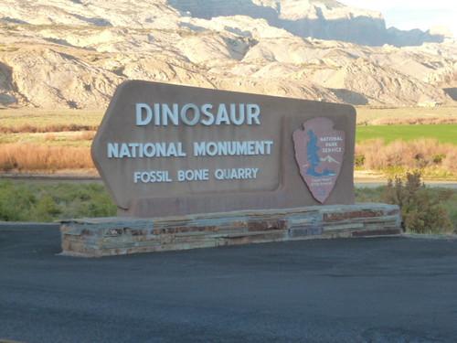 9-3-12 UT - Dinosaur National Monument 105, entrance sign
