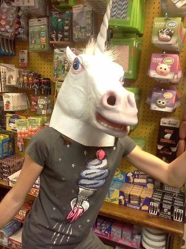 creepy unicorn