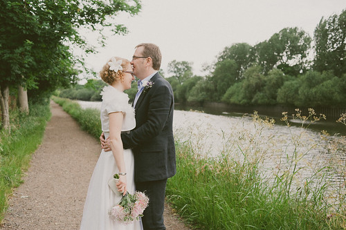 Kisses by the river
