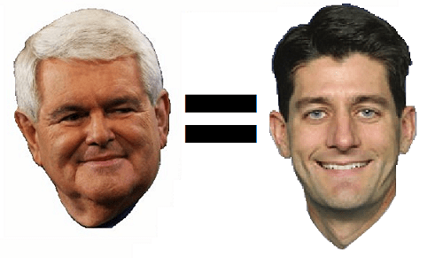 Love Newt Gingrich? You'll Love Paul Ryan.