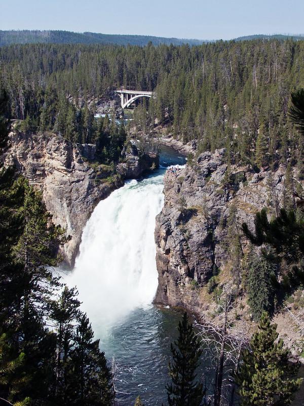 Upper Falls, Upper Falls Viewpoint