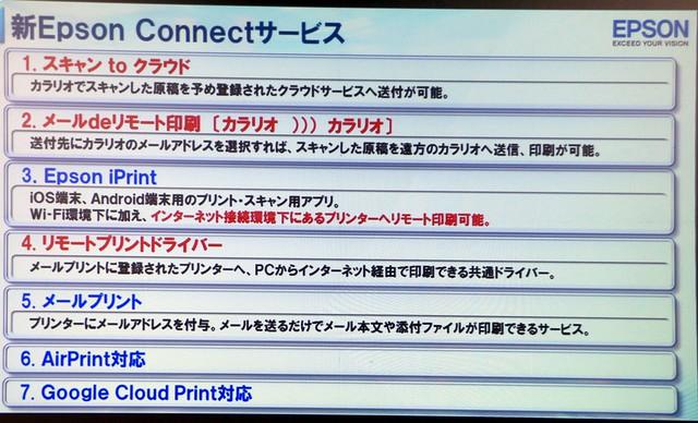 新Epson Connectサービス