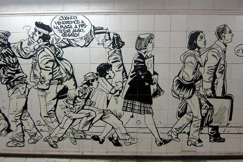 Buenos Aires: Pasaje Lima Norte - Gente de Buenos Aires