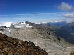 Gipfelblick vom Lenkstein 3.237 m