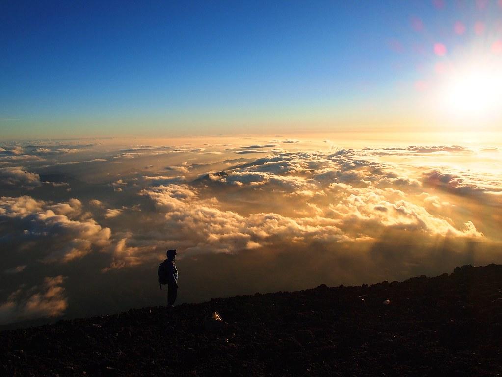 climbing mount fuji: luna tan, Life to Reset
