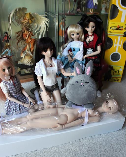 Dollfie Dream Rise Kujikawa - angry bunny!