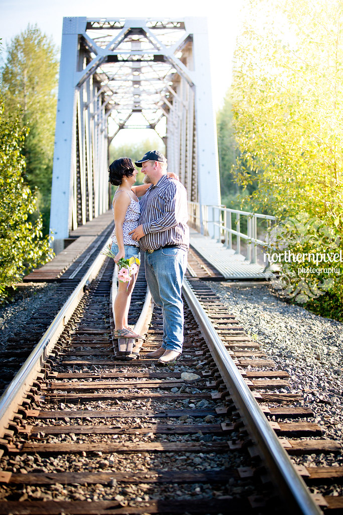 Salmon River Bridge - Engagement Session