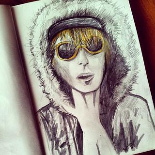 Cory Worthington #sketch #sketchbook #art #drawing #drongo #Bogan #pencilandink