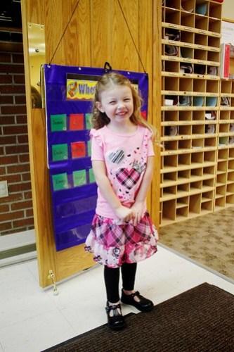 Jadyn's 1st Day of preschool