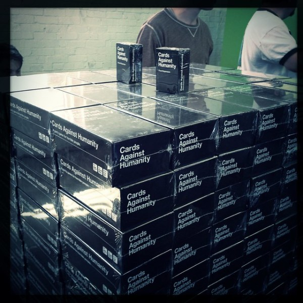 My first purchase at #xoxofest - Cards Against Humanity