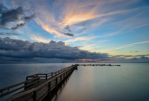 Dawn in Titusville, Florida