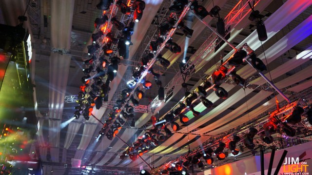 DTS's booth at PLASA 2012