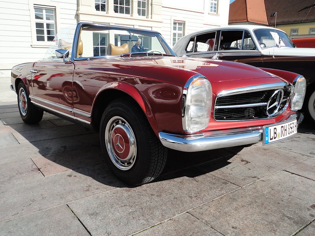 1969 mercedes 280 sl w113 cabrio klasik otomobiller. Black Bedroom Furniture Sets. Home Design Ideas