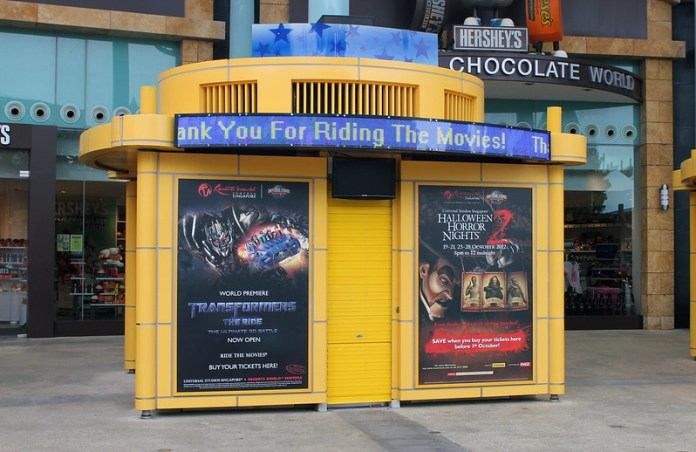 Universal Studios Singapore - Park Entrance