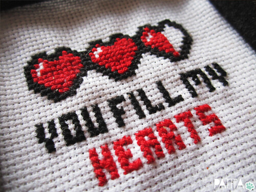 You fill my hearts. Jugones. Geek Love! :)