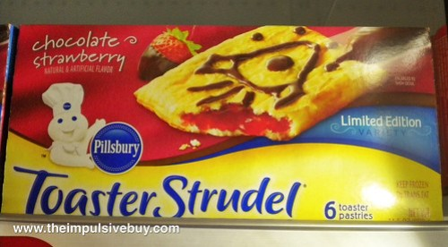 Pillsbury Chocolate Strawberry Toaster Strudel