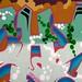 Alexandra Park skate park graffiti art
