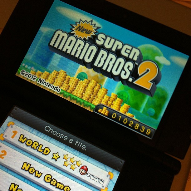 MASTERED New Super Mario Bros 2 3DS Game Flickr Photo