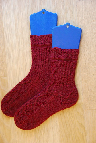 SKA September Mystery Sock 2012