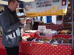 Ms Cupcake. Venn Street Market, Clapham Common