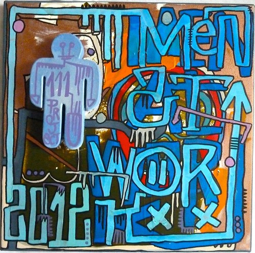 Men at work by Tarek by Pegasus & Co