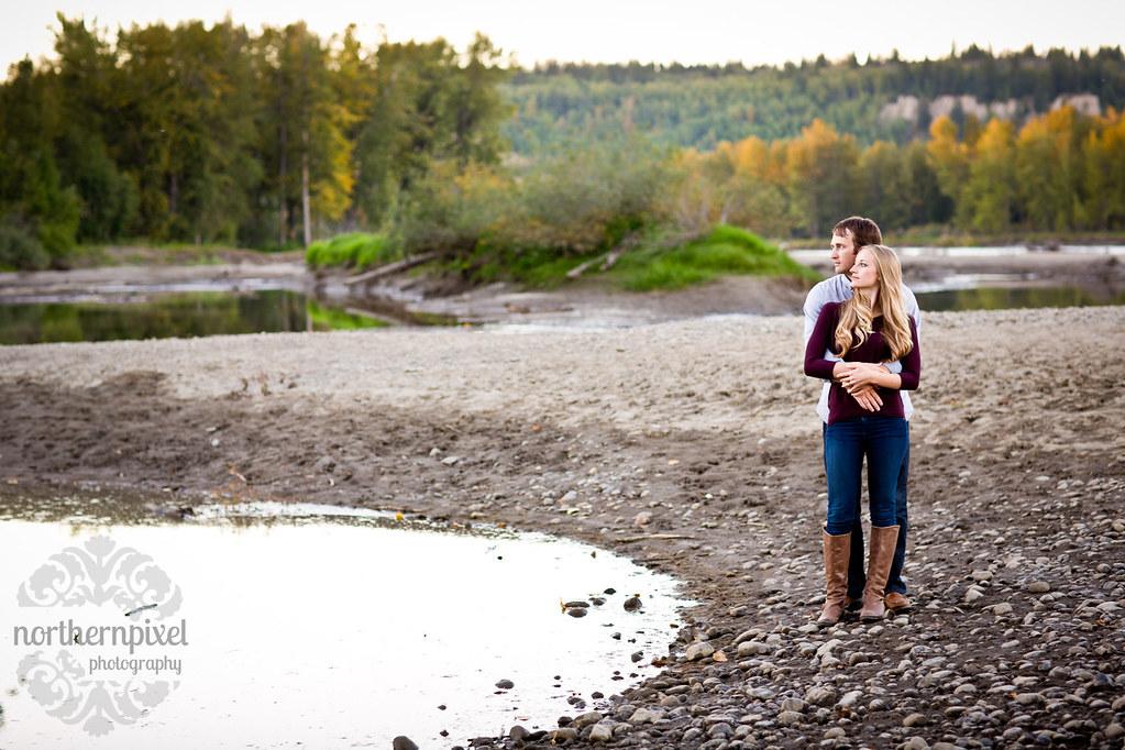 beautiful amazing best engagement nechako river cottonwood island park