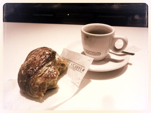 espresso and brioches