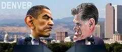 Barack Obama v Mitt Romney Denver Debate