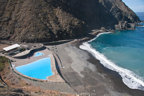Munical pool at Vallehermoso
