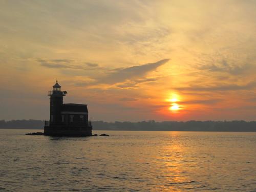 Leaving Long Island Sound