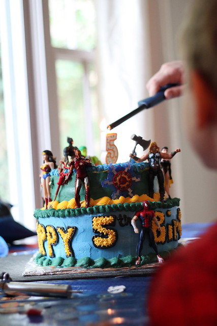Alex's 5th Birthday Party