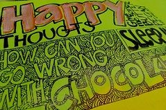My Altered Book: A Happy Life - Happy Thoughts