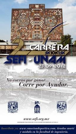 Carrera SEFI-UNAM 2012