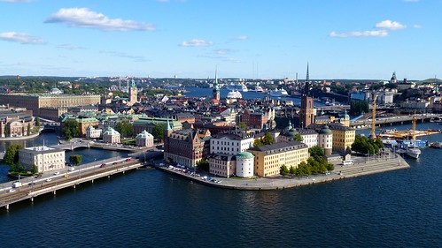 Gamla Stan, seen from City Hall tower