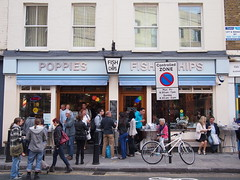 Poppies Fish & Chips, Hanbury Street