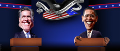 Barack Obama vs Mitt Romney in Denver Presidential Debate