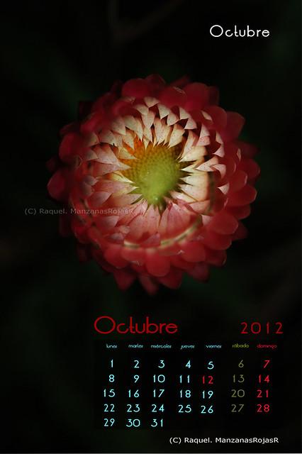 Calendario octubre 2012