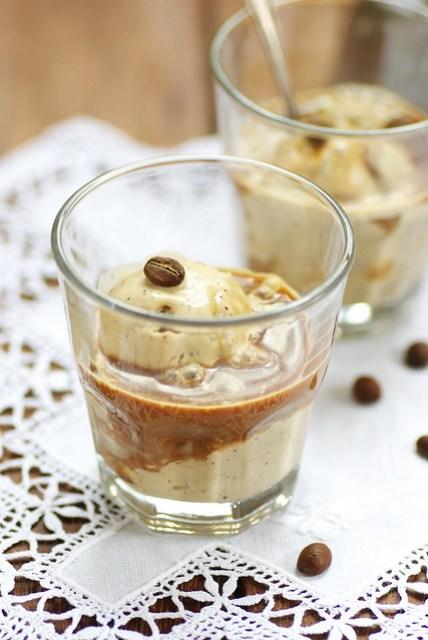 Coffee ice cream - Affogato al caffè