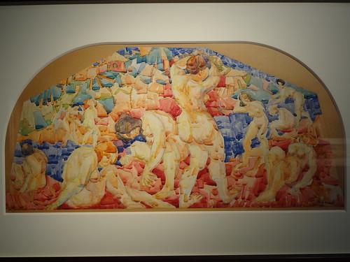 Bathers. (c. 1917).